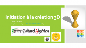 Photo of Initiation à la création 3D